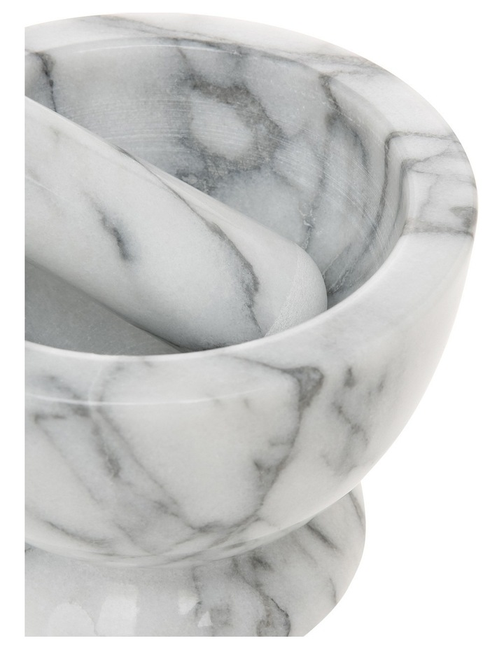 Marble Mortar And Pestle image 2