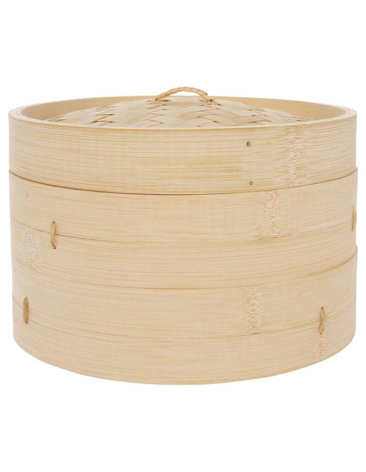 2 Tier Bamboo Steamer - Dia 25cm image 1