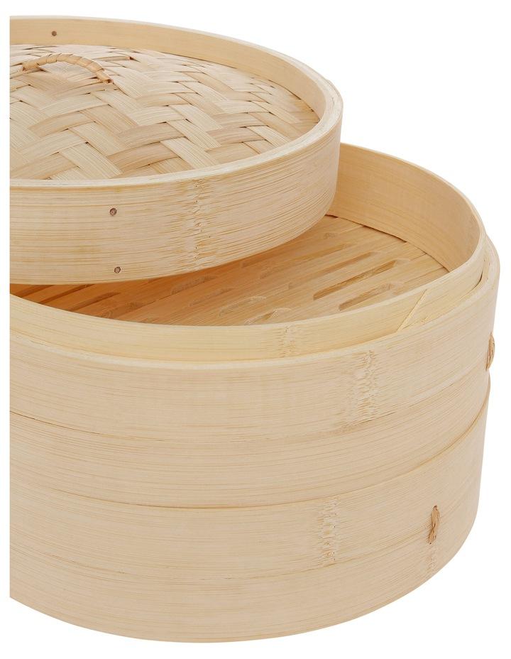 2 Tier Bamboo Steamer - Dia 25cm image 2