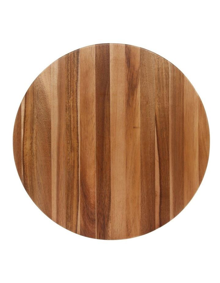 Acacia Wood Round Chopping Board image 1