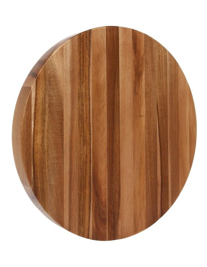 Acacia Wood Round Chopping Board image 2
