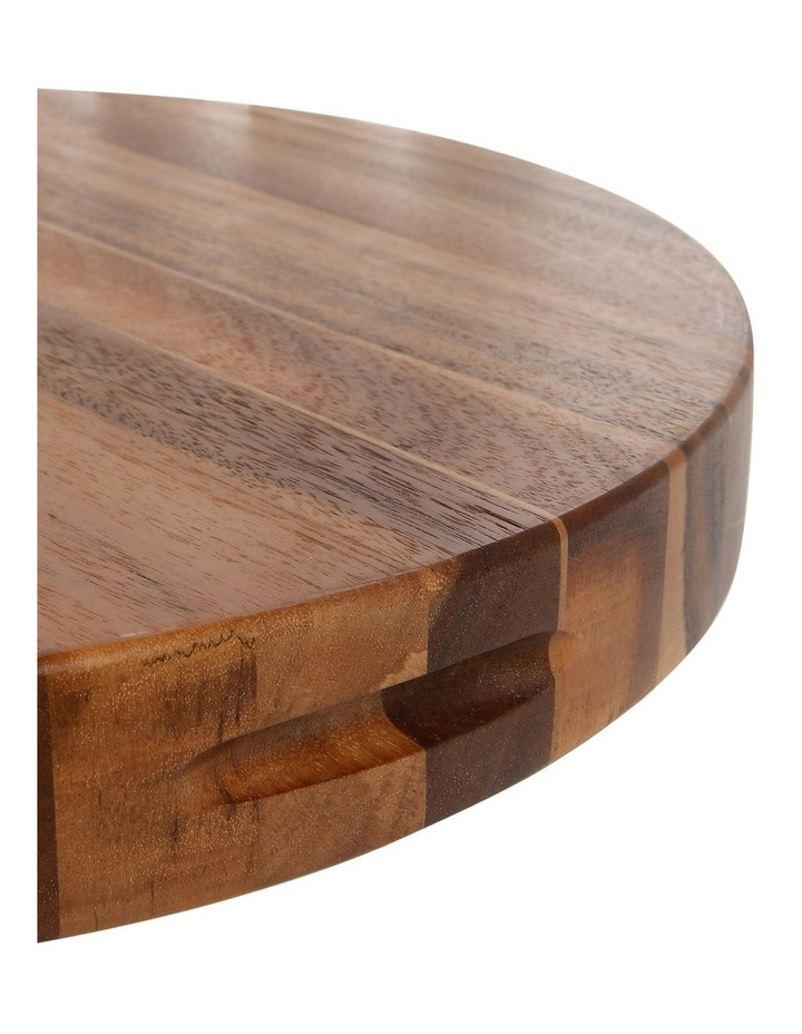 Acacia Wood Round Chopping Board image 3