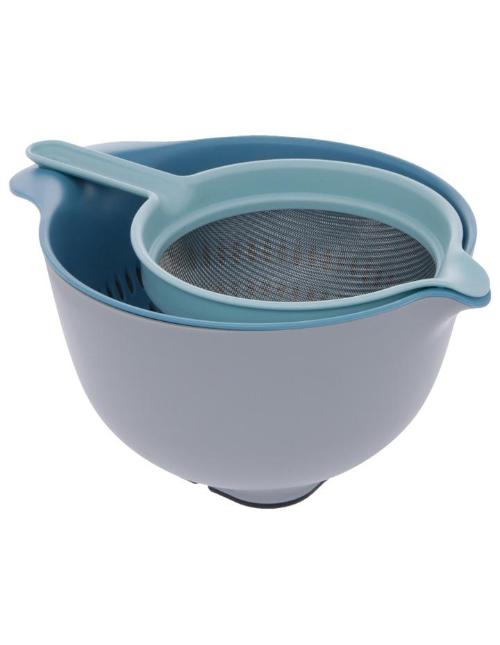 Venn 3.5l Mixing Bowl, Colander & Sieve Set image 2