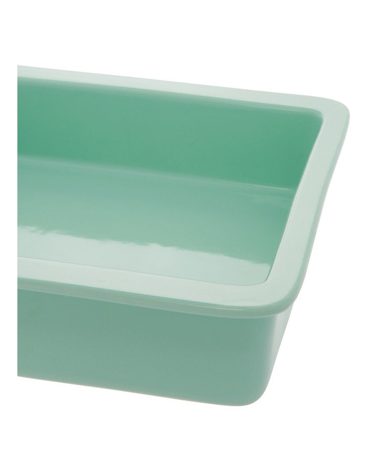 Illusion Square Baker - Aqua image 2
