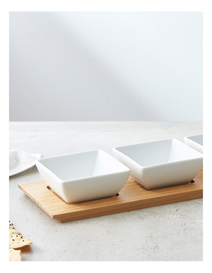 Bowl Set With Tray image 2