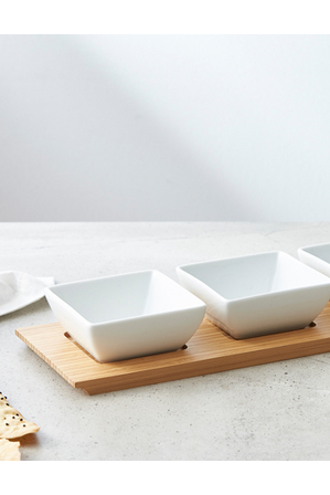 Vue - Bowl Set With Tray