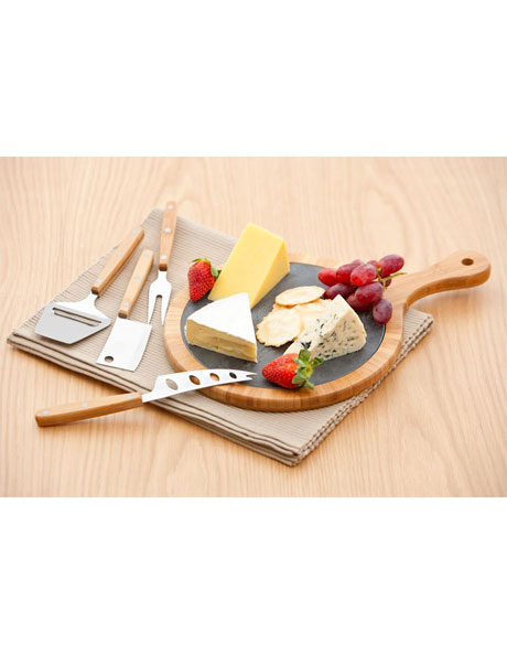 Essentials 5 Piece Cheese Board Set image 1
