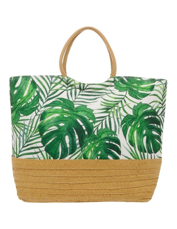 Insulated Basket Tote - Palm Green image 1