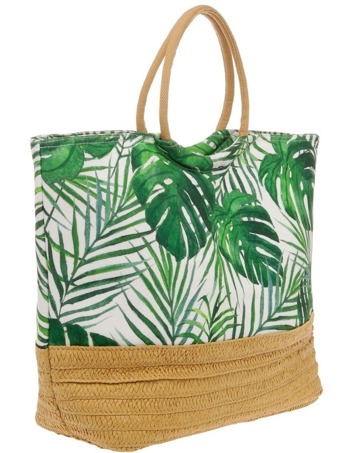 Insulated Basket Tote - Palm Green image 2