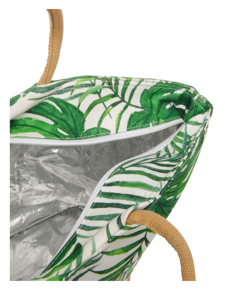 Insulated Basket Tote - Palm Green image 3