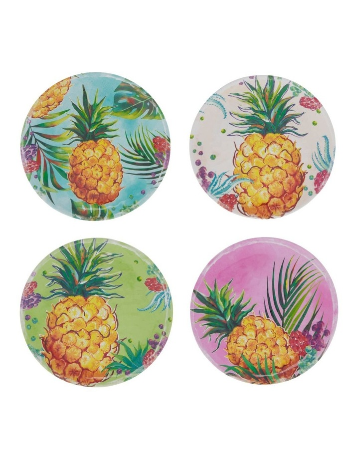 Pineapple Side Plate - Set of 4 image 1