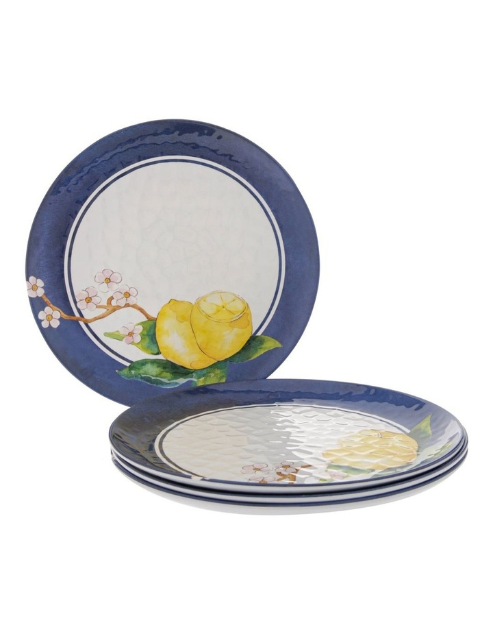 Limone Melamine Dinner Plate - Set Of 4 image 1