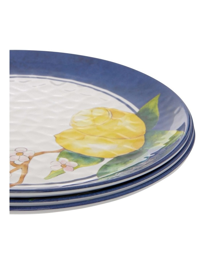 Limone Melamine Dinner Plate - Set Of 4 image 2