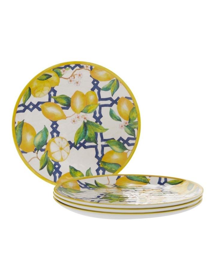 Limone Melamine Side Plate - Set Of 4 image 1