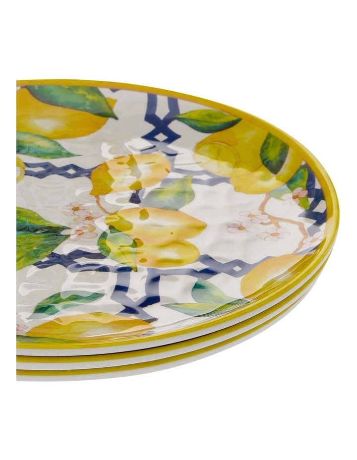 Limone Melamine Side Plate - Set Of 4 image 2