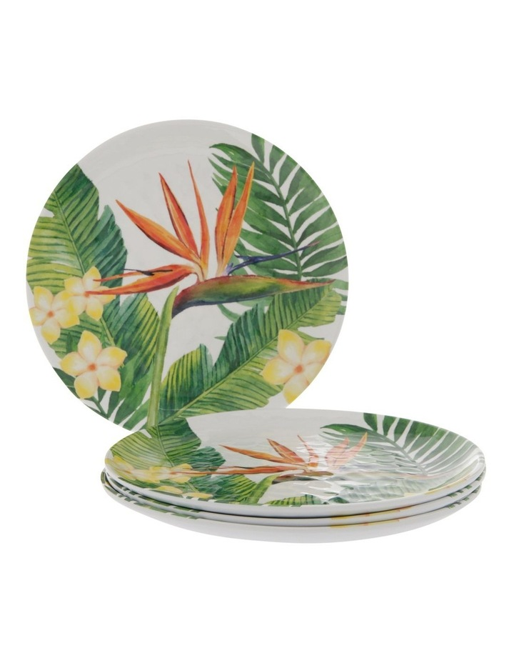Bird Of Paradise Melamine Side Plate - Set Of 4 image 1