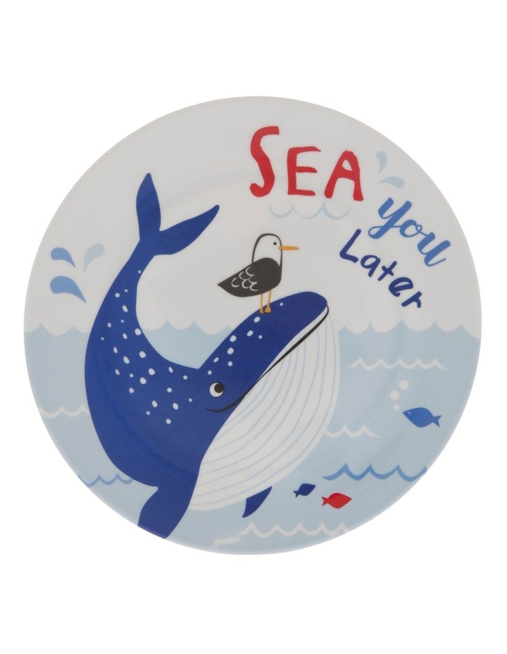 Melamine Under The Sea Dinner Plate image 1