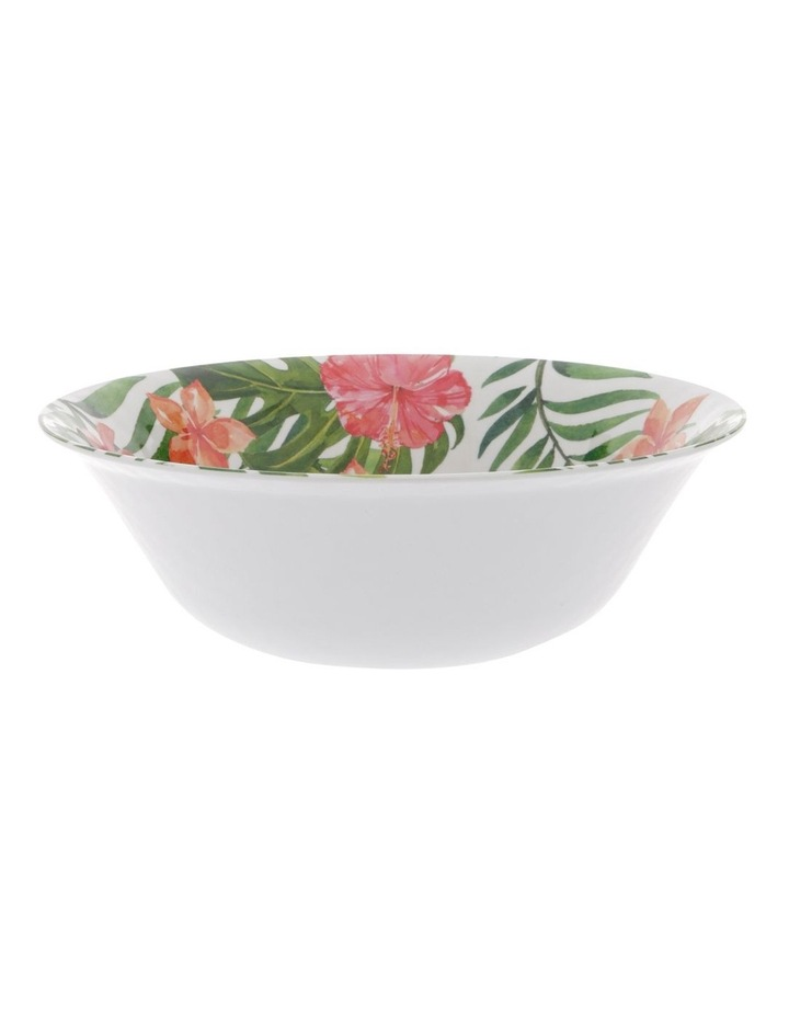 Hibiscus Melamine Large Serving Bowl image 1