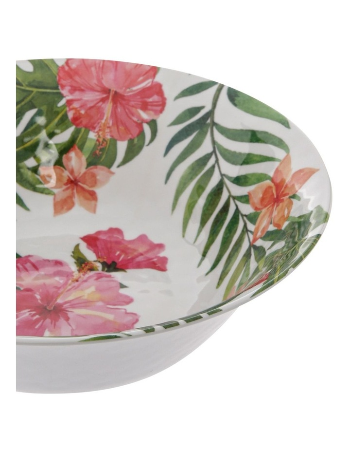 Hibiscus Melamine Large Serving Bowl image 2