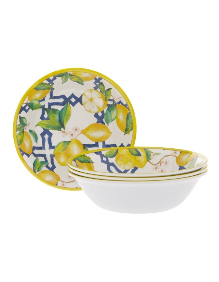 Limone Melamine Small Bowl - Set Of 4 image 1