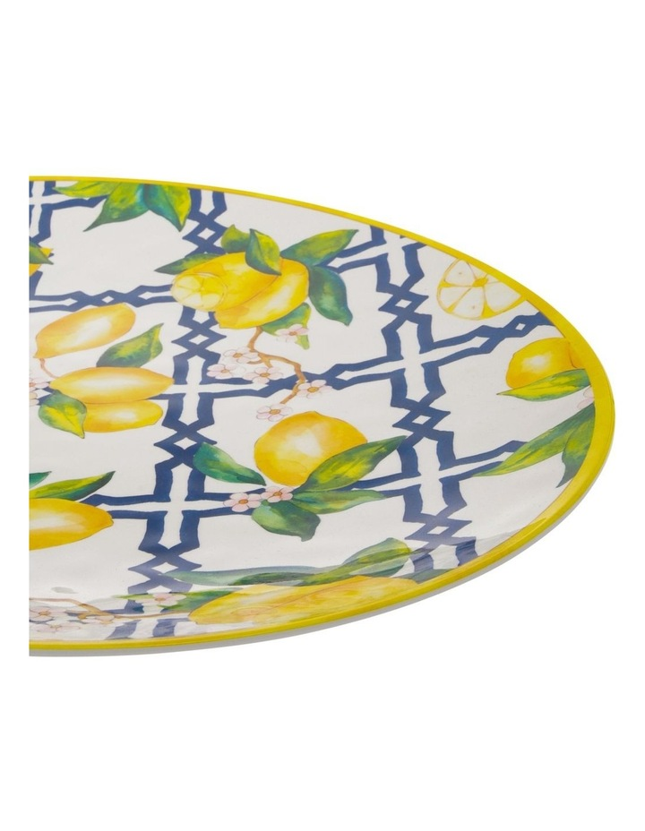 Limone Melamine Oval Platter image 2