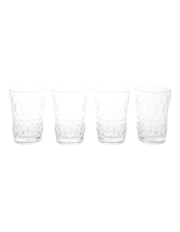 Acrylic Radiant Clear Tumbler - Set of 4 image 1