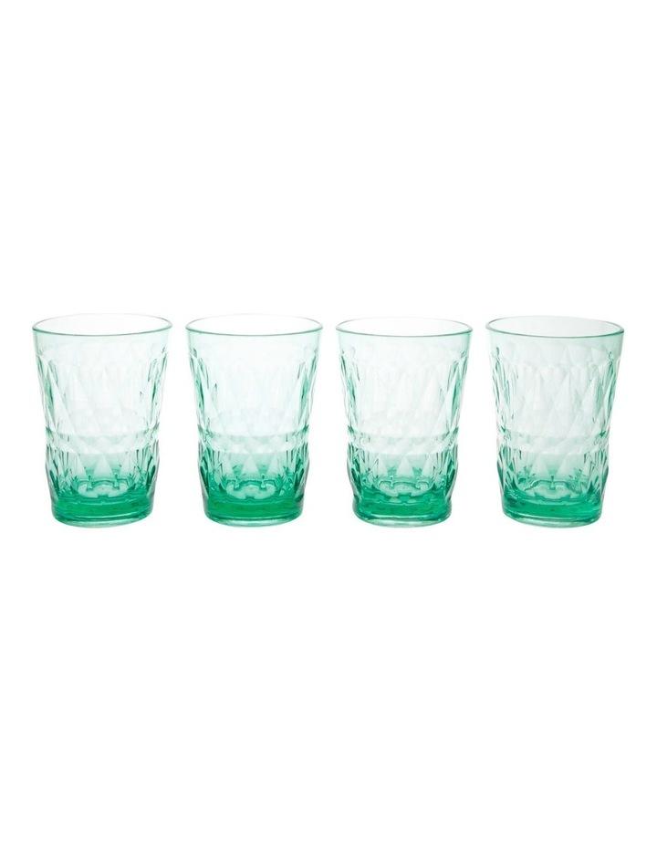 Acrylic Radiant Green Tumbler - Set of 4 image 1