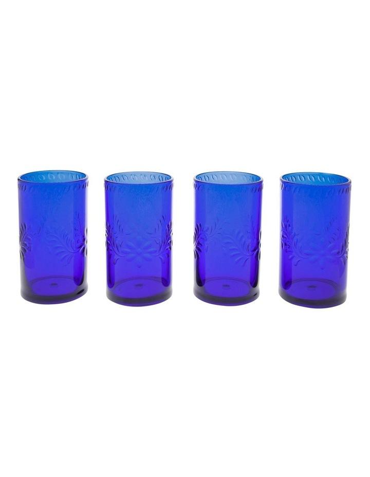 Limone Acrylic Tumbler Blue - Set Of 4 image 1