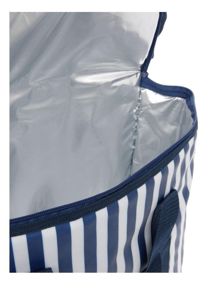 Rectangular Picnic Cooler Bag - Stripes image 3