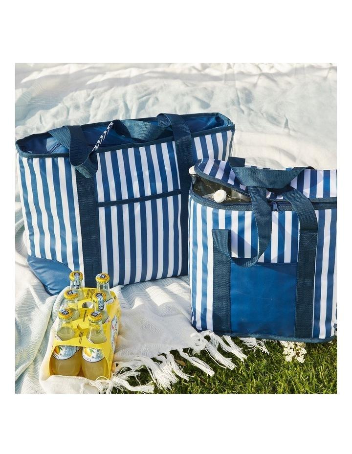 Rectangular Picnic Cooler Bag - Stripes image 4