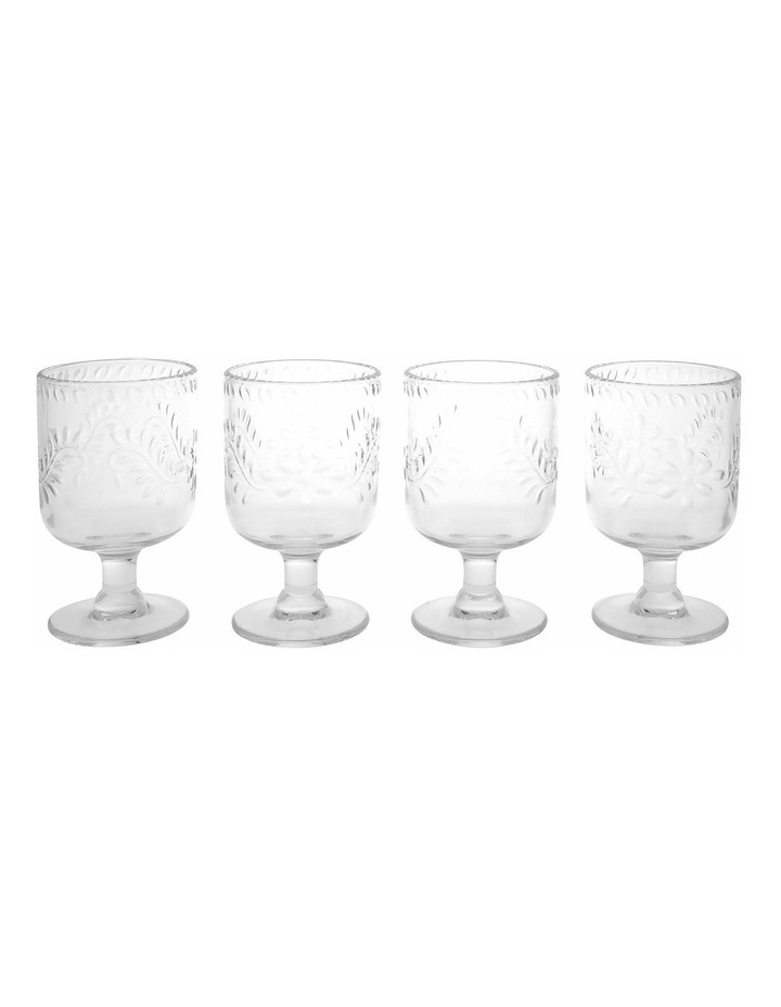 Limone Acrylic Wine Goblet Clear - Set Of 4 image 1