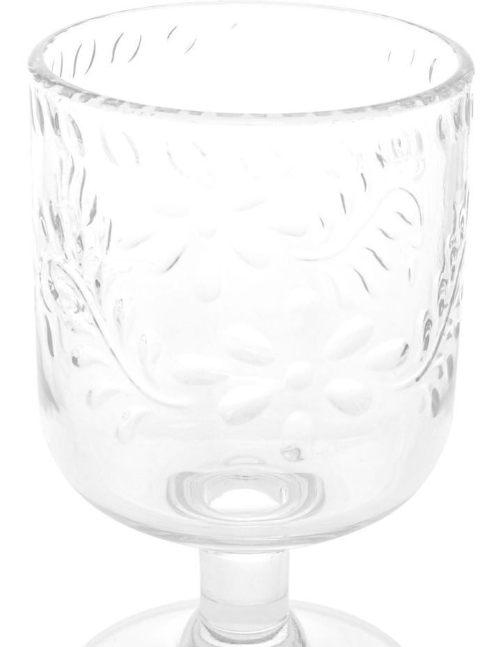Limone Acrylic Wine Goblet Clear - Set Of 4 image 2