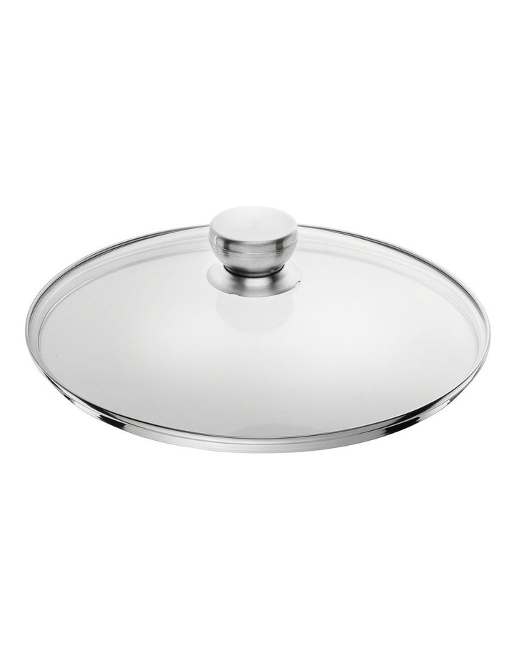 Stainless Steel Glass Lid 28cm image 1