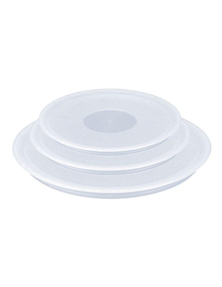 Set Of 3 Plastic Lids image 1
