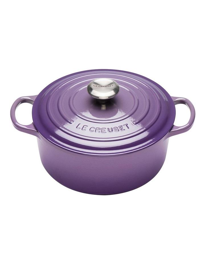 Le Creuset Signature Round Casserole 28cm - Ultra Violet image 1