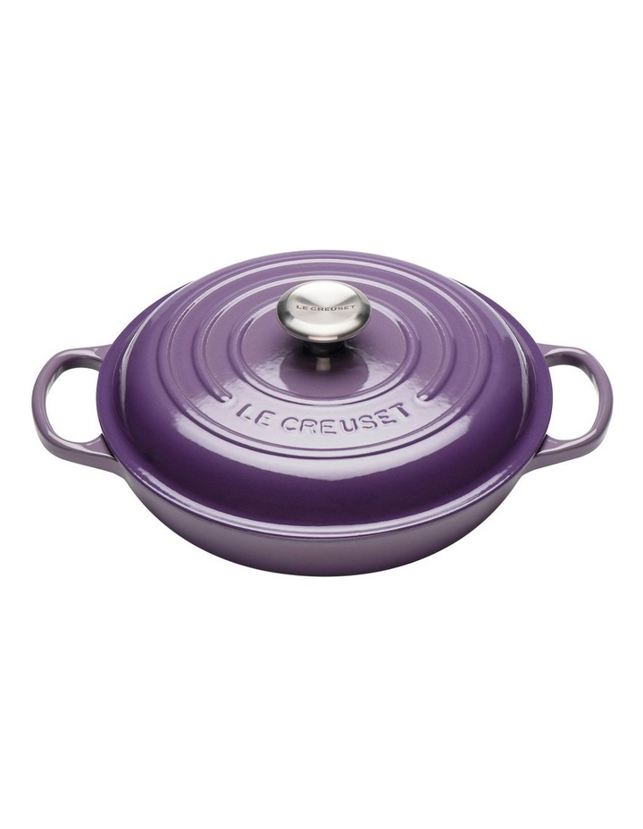 Le Creuset Signature Shallow Casserole 30cm Ultra Violet image 1
