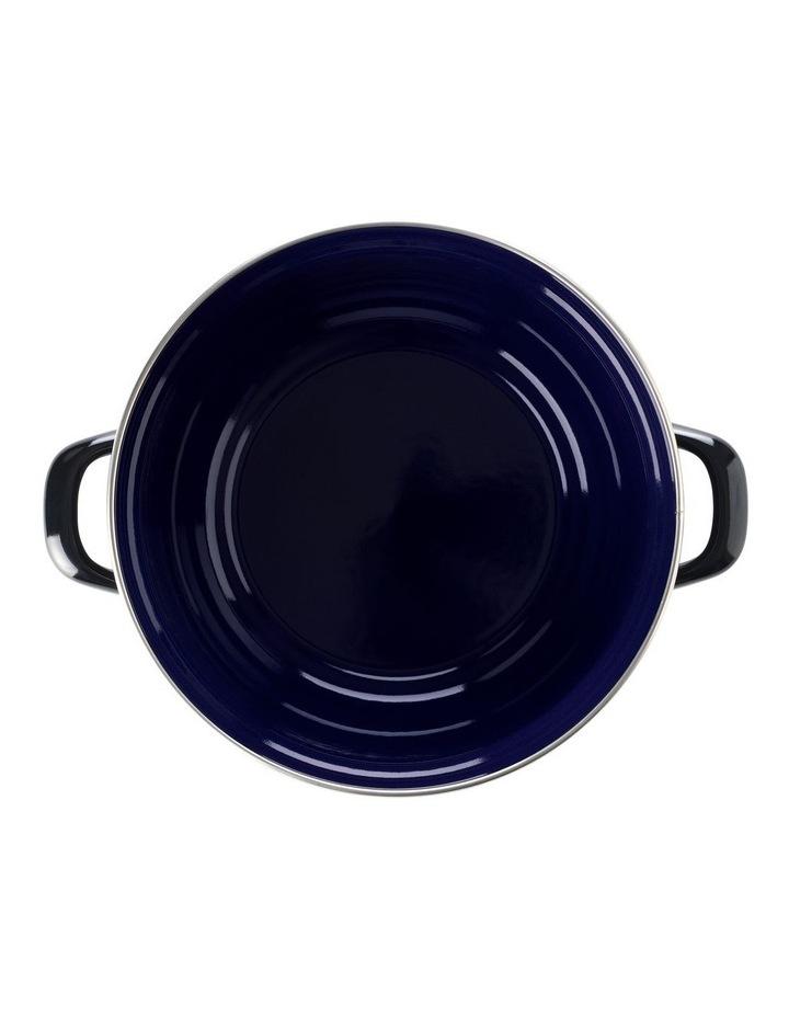 Dutch Dutch Oven Black w/blue interior 26cm image 3