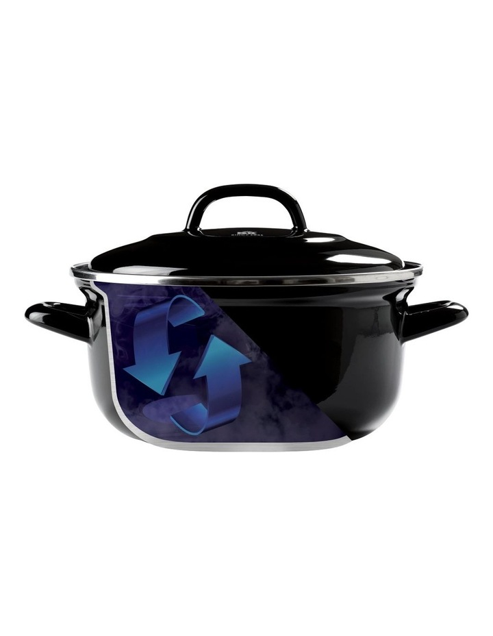 Dutch Dutch Oven Black w/blue interior 26cm image 4
