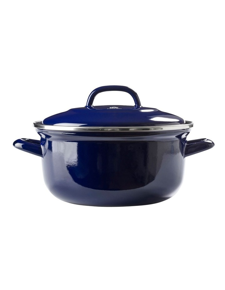 Dutch Dutch Oven Blue w/blue Interior 26cm image 1