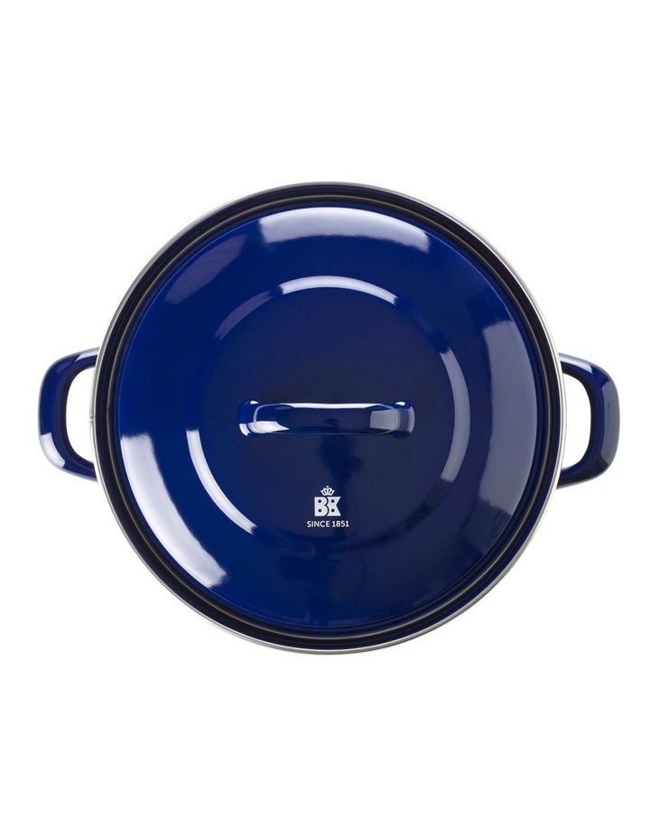Dutch Dutch Oven Blue w/blue Interior 26cm image 2