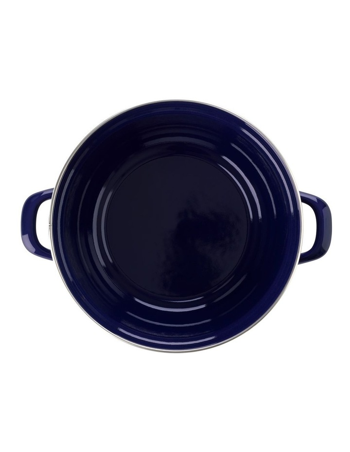 Dutch Dutch Oven Blue w/blue Interior 26cm image 3