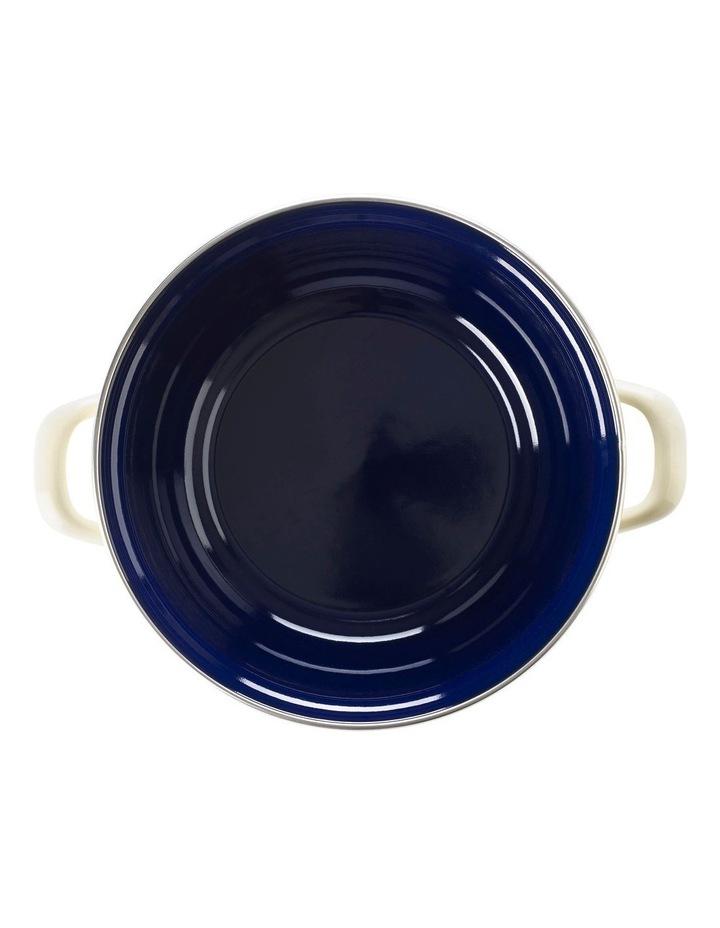 Dutch Dutch Oven Cream w/blue interior 26cm image 3
