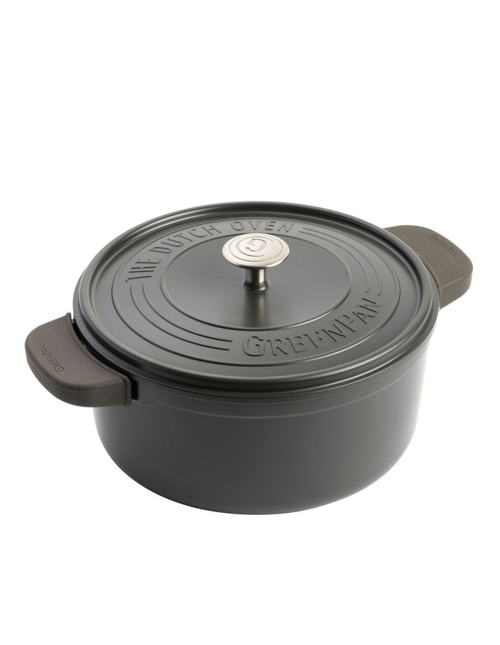 Featherweights Casserole with lid 24cm/4.2L Grey image 2