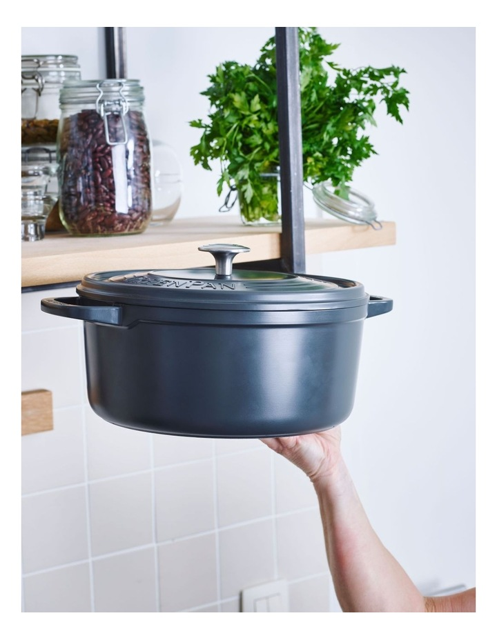 Featherweights Casserole with lid 24cm/4.2L Grey image 3