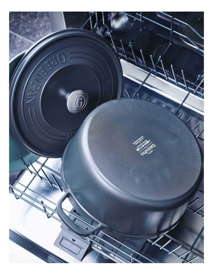 Featherweights Casserole with lid 24cm/4.2L Grey image 7