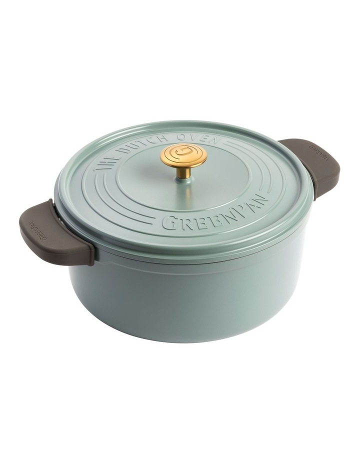 Featherweights Casserole with lid 24cm/4.2L Smokey Blue image 2