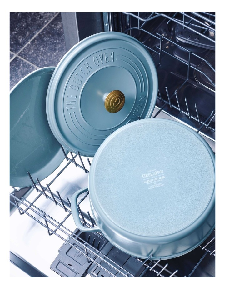 Featherweights Casserole with lid 24cm/4.2L Smokey Blue image 7