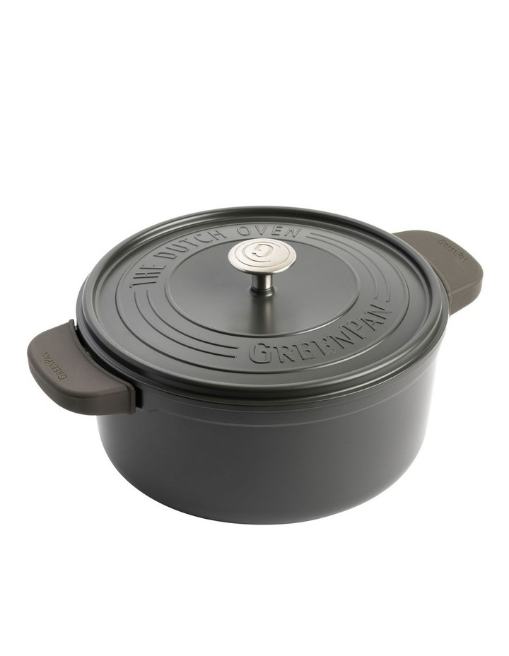 Featherweights Casserole with lid 28cm/6.6L Grey image 2