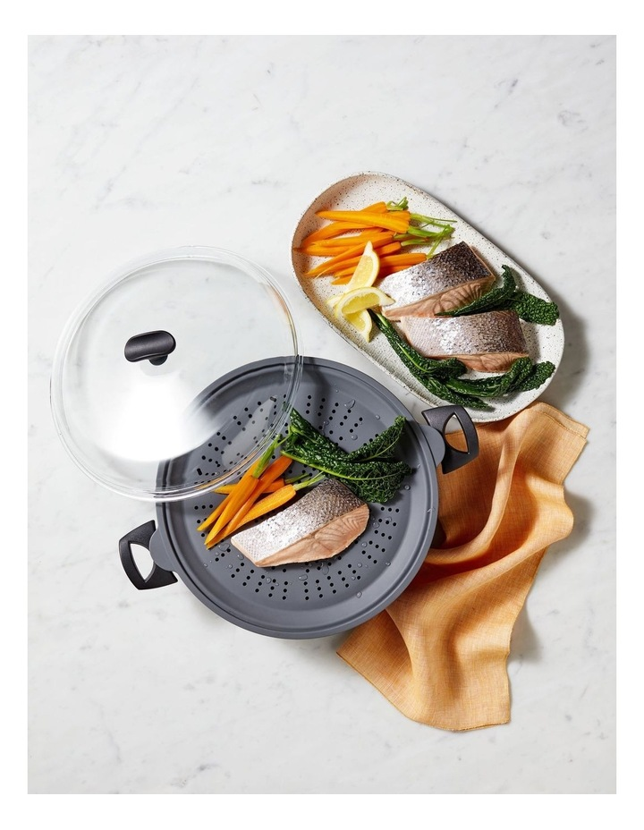 Per Salute 33x26cm Induction Steamer and Multicooker With Silicone insert image 2