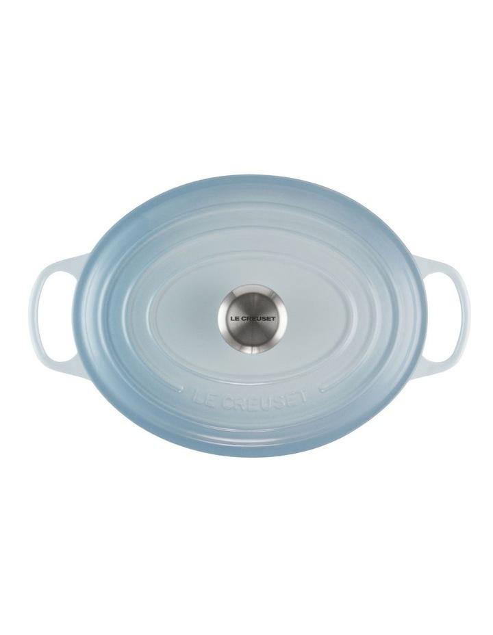 Signature Oval Casserole 27cm Coastal Blue image 3